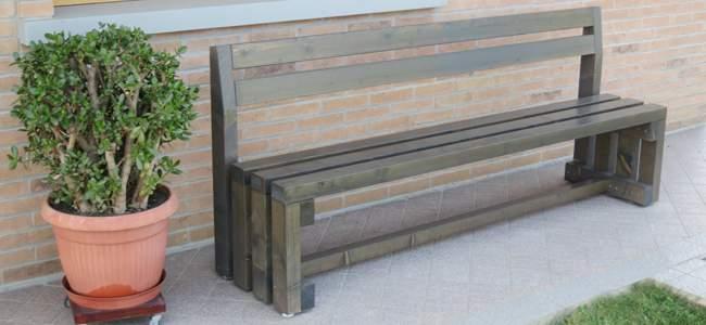 Tavoli e panche in legno pave snc - Panche e tavoli da esterno ...